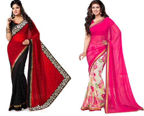 baju sari india murah