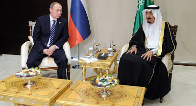 Resposta de Putin  ao rei saudita