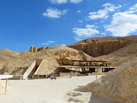 Entrance to Valley of the Kings