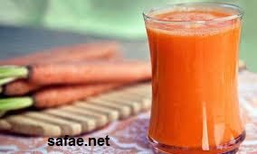 عصير الجزر و البرتقال