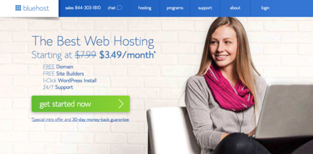 How To Start A Blog With Bluehost: 40% Off on Hosting with Free Domain