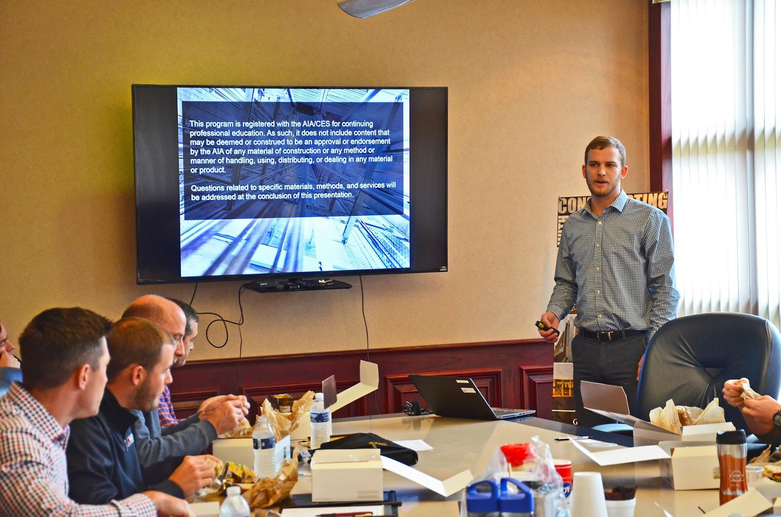 P J  Hoerr, Inc : Kone Elevators Lunch & Learn - Peoria Office