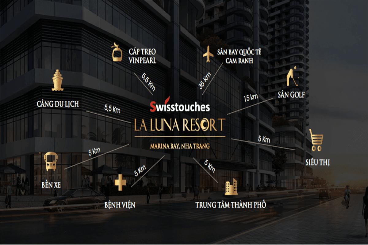 Liên Kết Dự Án Swisstouches La Luna Resort Nha Trang
