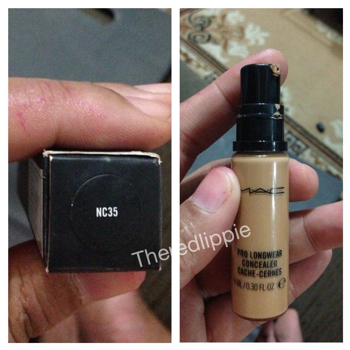 mac nc35 pro longwear concealer
