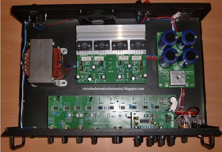 500w Power Amplifier 2sc2922  2sa1216 With Pcb Layout