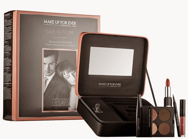 Limited Edition Fifty Shades of Grey Make Up For Ever