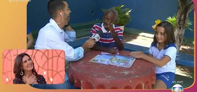 Fátima Bernardes conversa com entrevistados no Ceará durante o Encontro desta quarta (24)