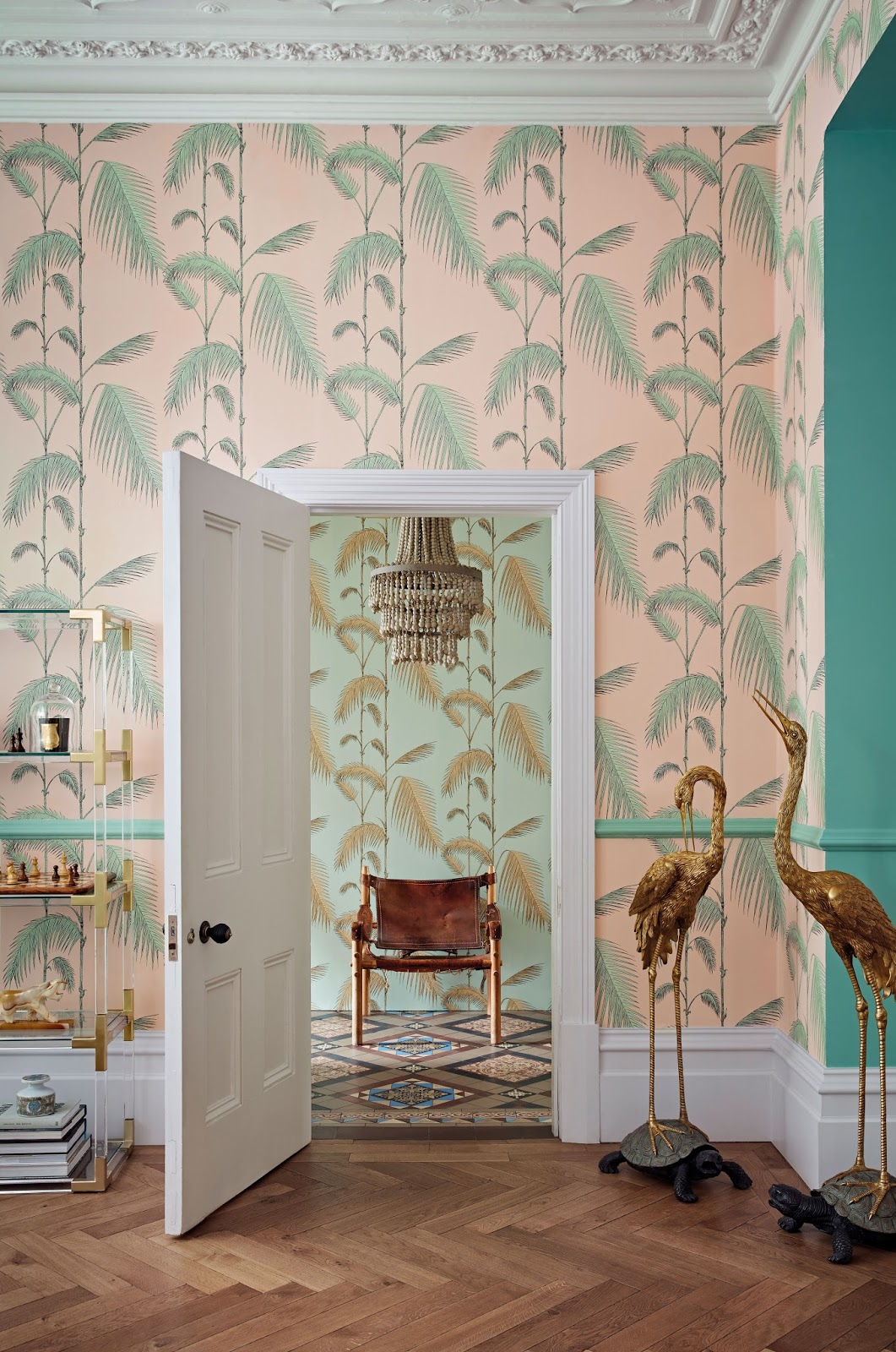 cole and son, hello peagreen, interior design, design blogger, wallpaper, interiors blogger