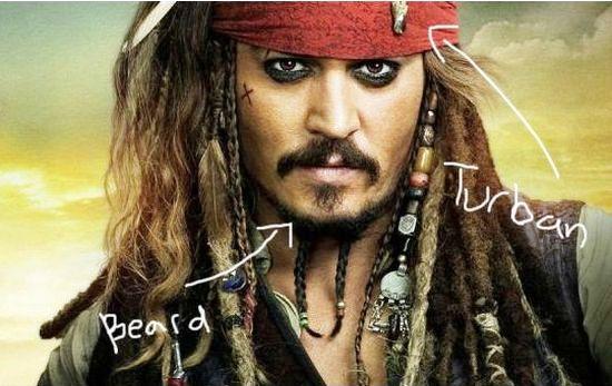 Captain Jack Ward 'Sparrow', Bajak Laut yang Menjadi Muslim