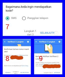 Cara Mengaktifkan Verifikasi 2  Langkah Akun Gmail di Android