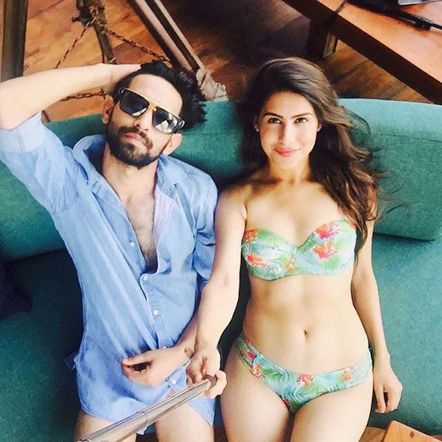 Vikrant Massey with Sheetal Thakur Selfie Time Lovebirds