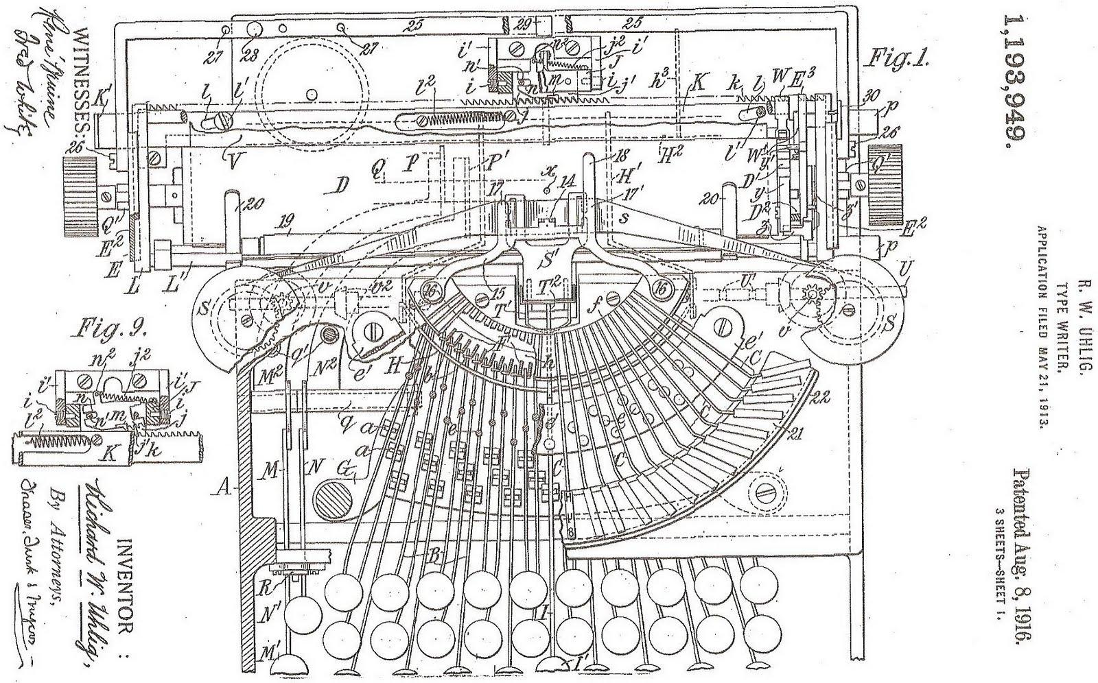 Oz Typewriter On This Day In Typewriter History L