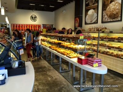 interior of Sheng Kee Bakery in Berkeley, California