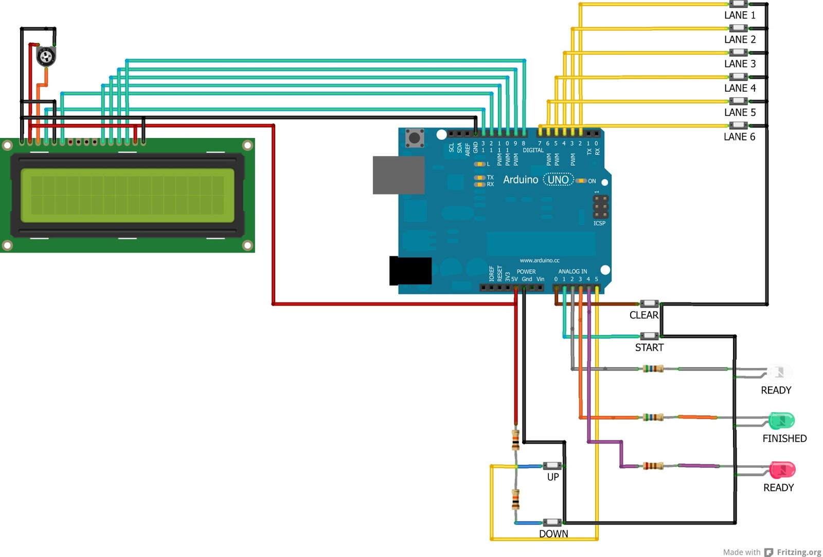Arduino Ideas: Swimming Timer