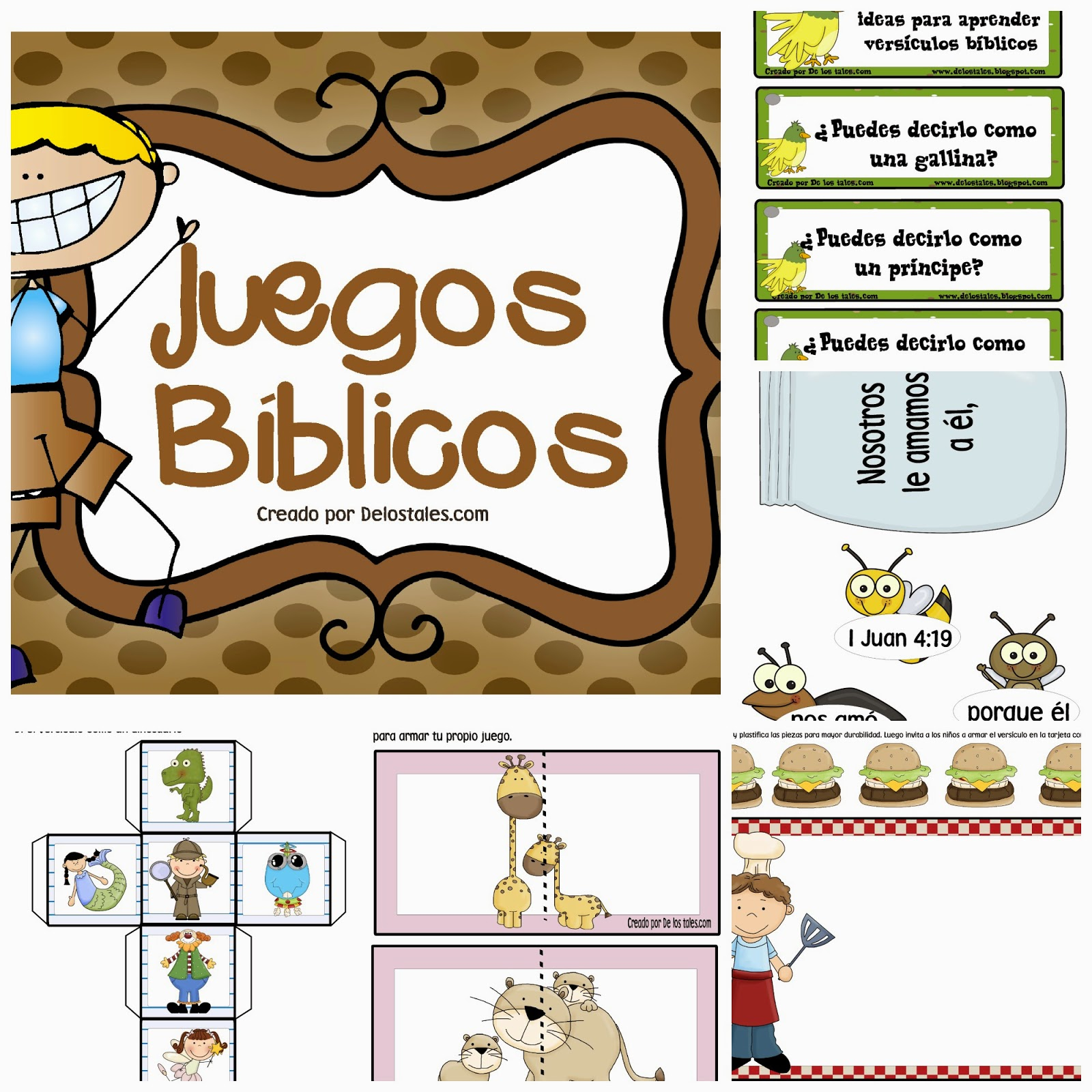 Juegos De La Biblia Para Ninos