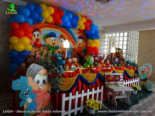 Aniversário tema Turma da Mônica - Decoração de festa infantil