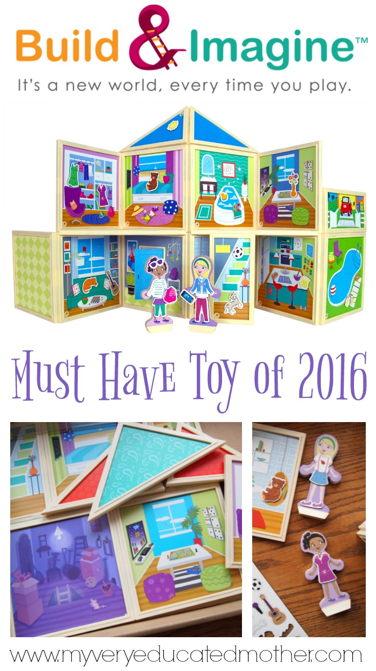 Must Have Creative Toy of 2016: Build and Imagine StoryWalls