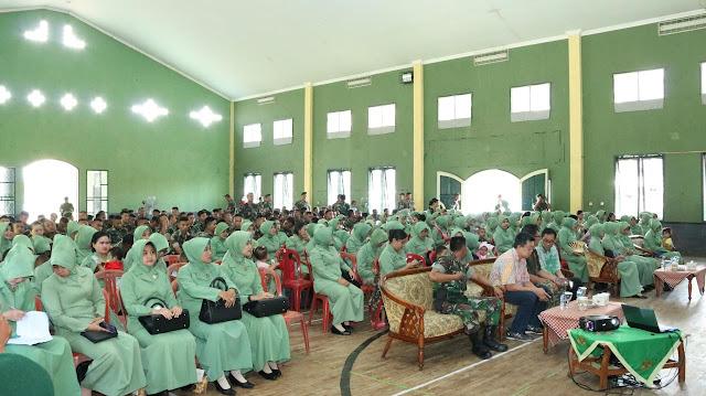 Kepala Bintal Kostrad Bekali Penyuluhan Prajurit Kostrad di Sukabumi