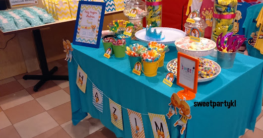Candy buffet untuk birthday party di Taman Melawati
