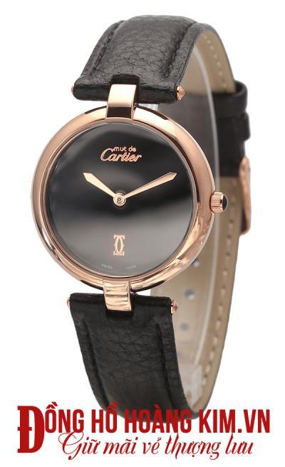 đồng hồ quai da nữ