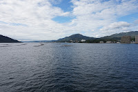 Vistas de la isla desde el ferryç