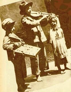 Trio copii interbelic - 1937