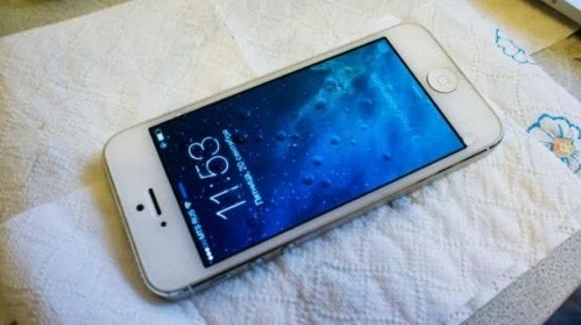 Réparation iPhone humide