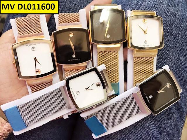 Đồng hồ mặt chữ nhật độc đáo, ấn tượng mang đậm cá tính riêng biệt