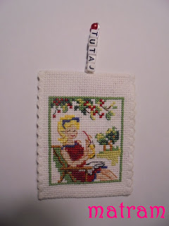 book mark cross stitch