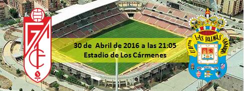 Previa Granada CF - UD Las Palmas 30 abril 21:05