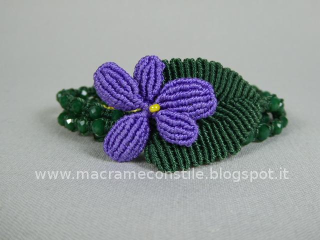 MACRAME violetta