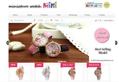 Miniature watch Mini