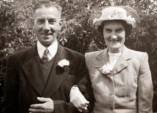 Grandad Harding and Gladys Harding