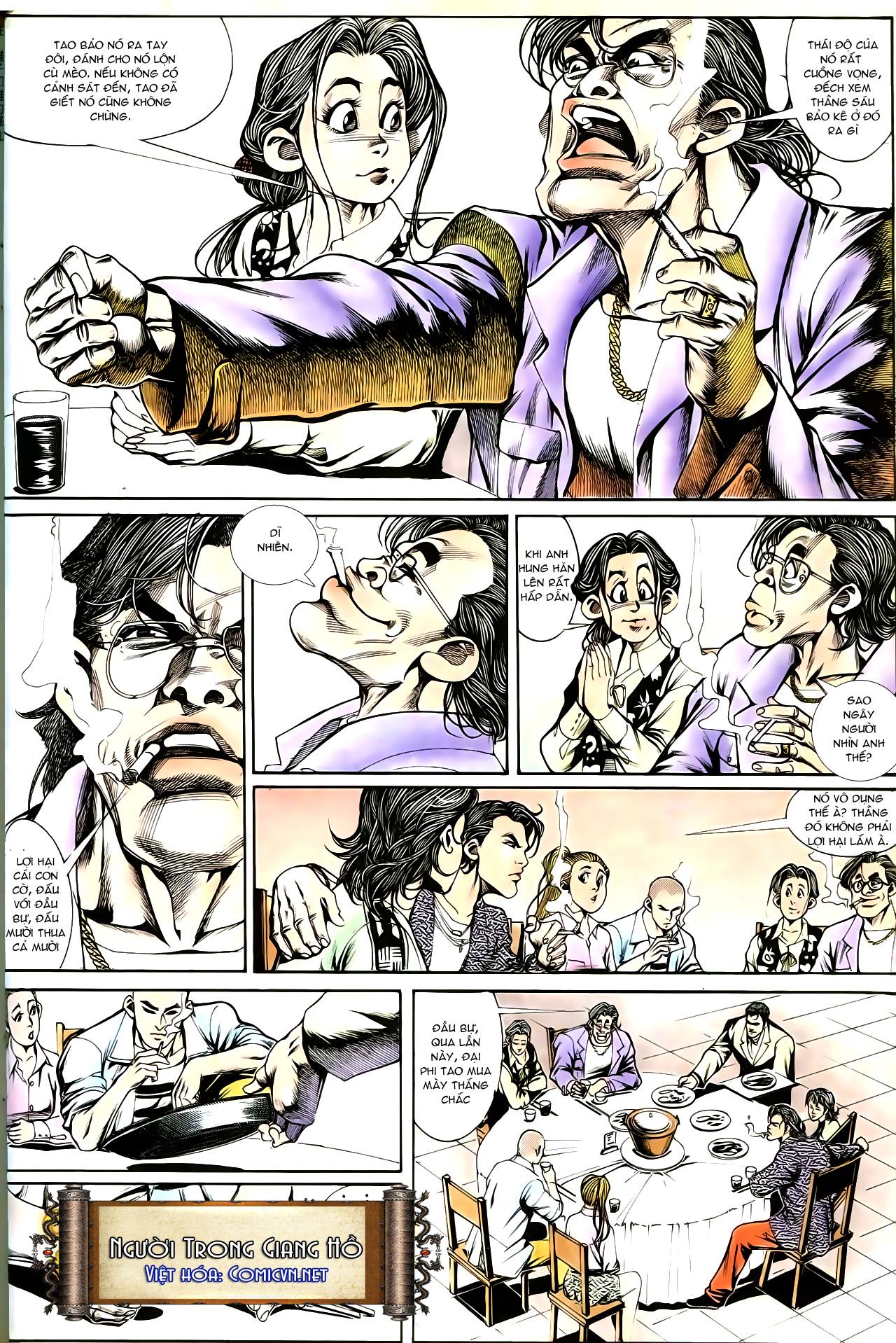 Người Trong Giang Hồ chapter 191: thiên thu tái hiện trang 19