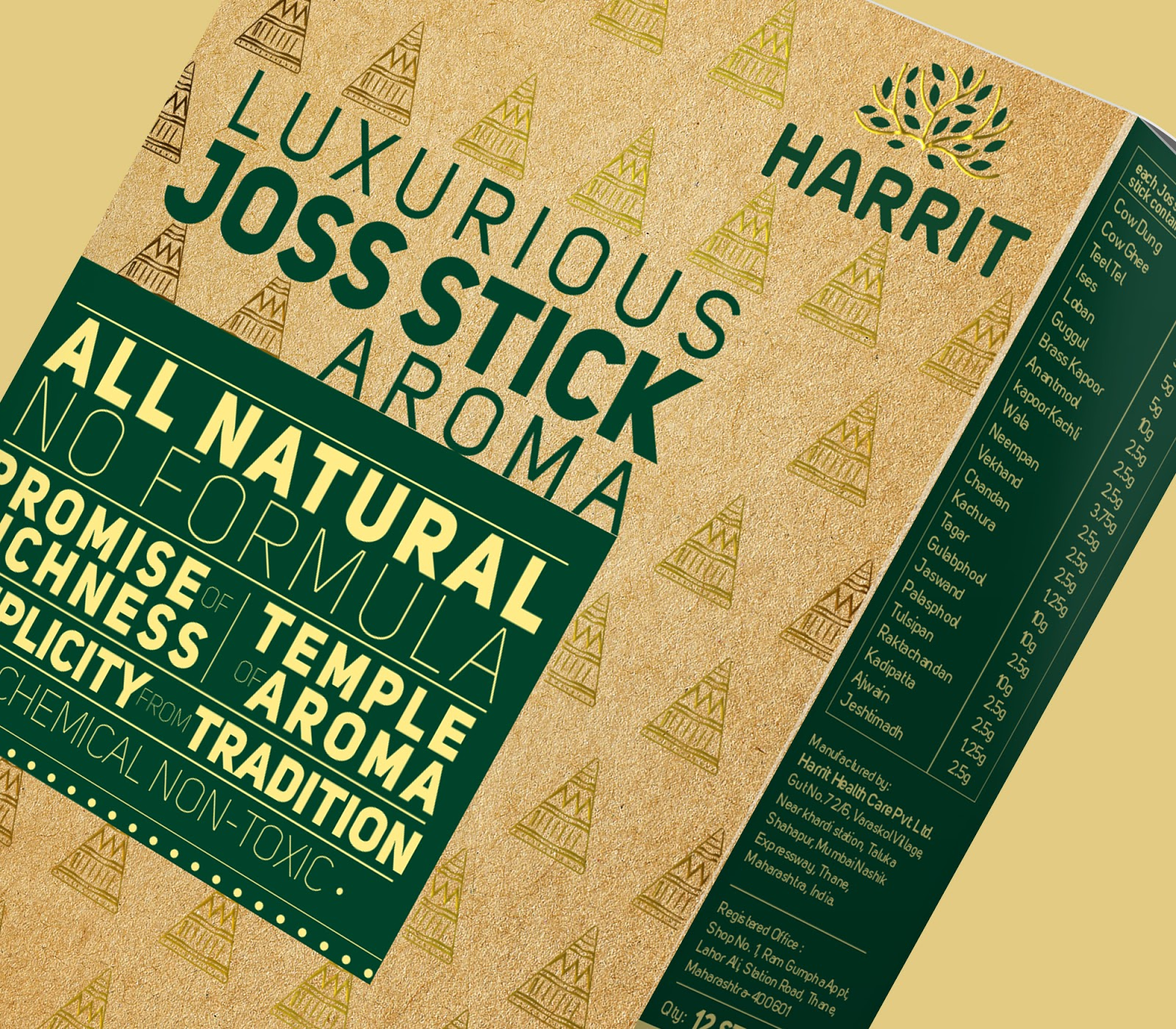 Luxurious Joss Sticks | Penang Web and Graphic Design Agency
