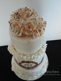 gâteau de mariage Bragança portugal doces opções