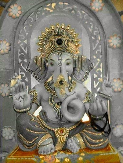 Lord Ganpati Ganesha Best Pic For Facebook Share