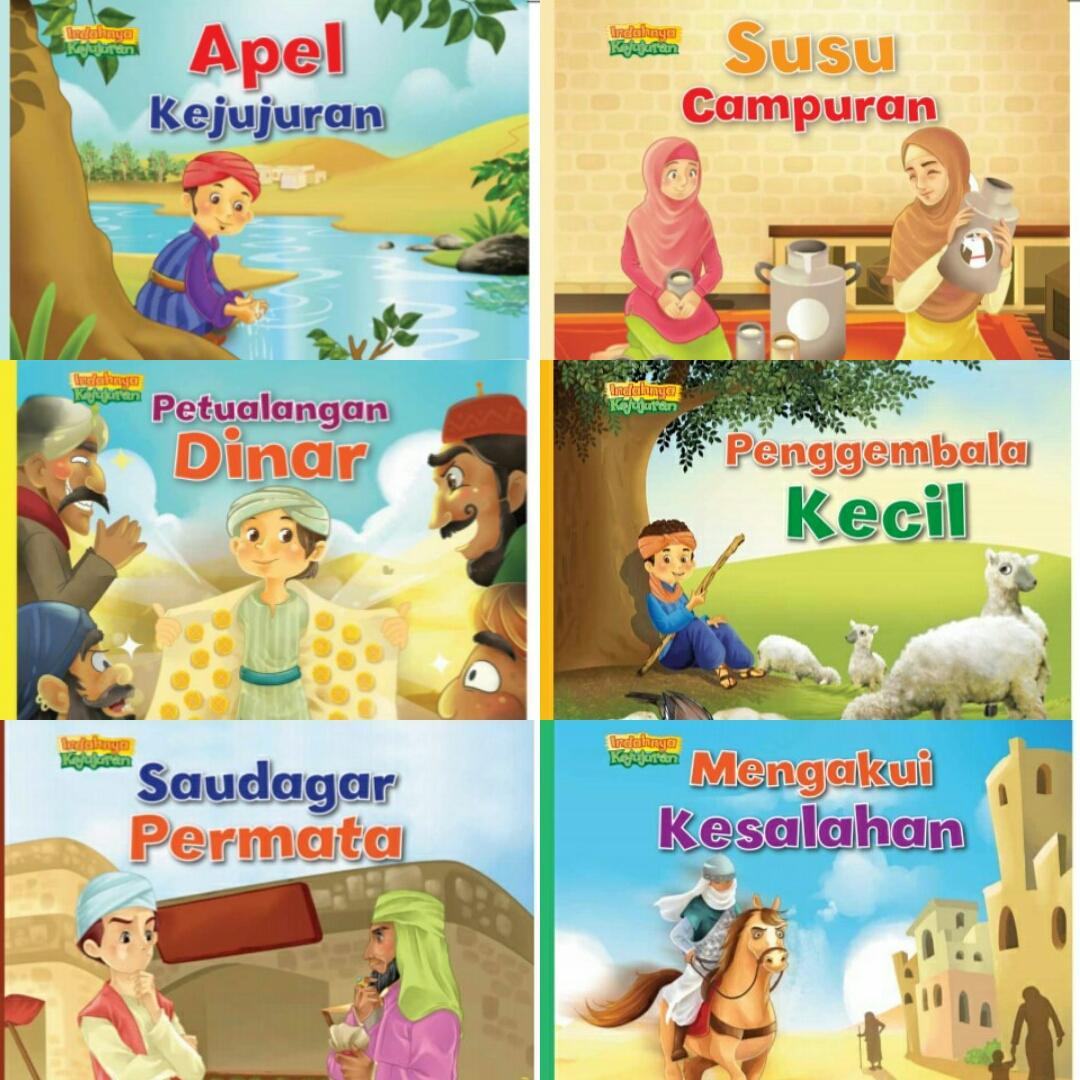 Buku Cerita Anak Serial Indahnya Kejujuran Izzah Annisa