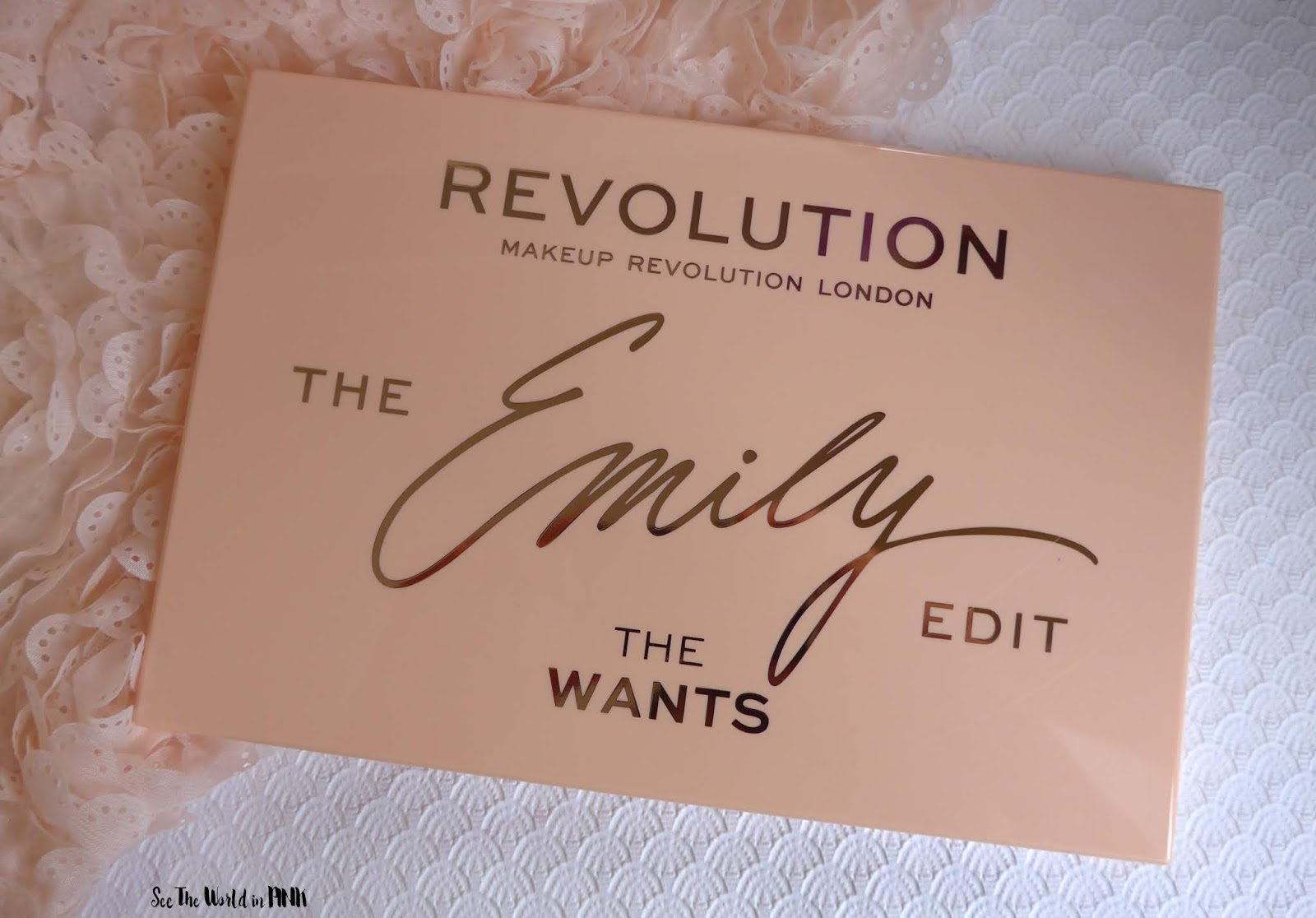 "Makeup Revolution - Revolution x The Emily Edit ""The Wants"" Palette ~ Swatches, Review and 5 Looks!"