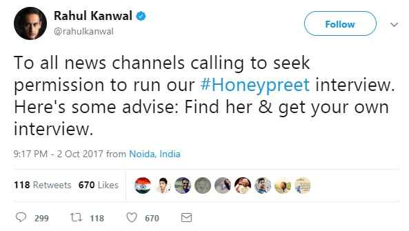 rahul-kanwal-honeypreet-insal-interview