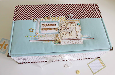 scrapbooking, photobox, scrap, hand made box