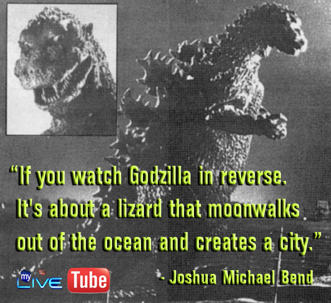 Godzilla Quotes: MyLiveTribeSterFaceSpacesBookT00b-witter: QUOTEW OF THE