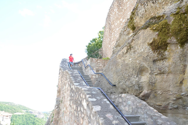 Megalo Meteora manastırı