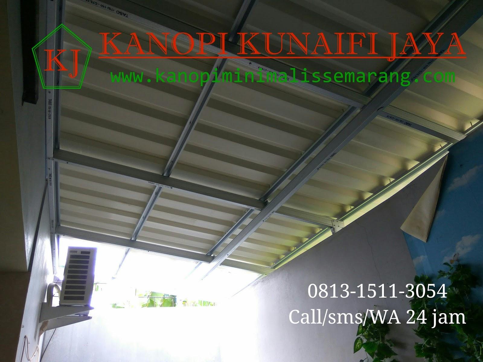 harga baja ringan di solo 2017 model canopy dan 0813 1511 3054