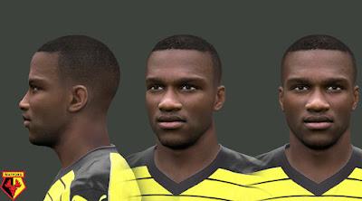 PES 2016 Obbi Oularé (Watford) Face by EmreT