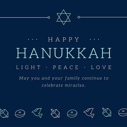 happy hanukkah 2018 Wishes for frineds