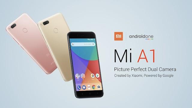 Spesifikasi Xiaomi Mi A1 Android, Android One Pertama Dari Xiaomi