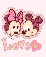 minnie mouse y micke bebes bebes disney para imprimir