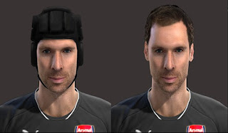 Face: Petr Cech - Arsenal, Pes 2013