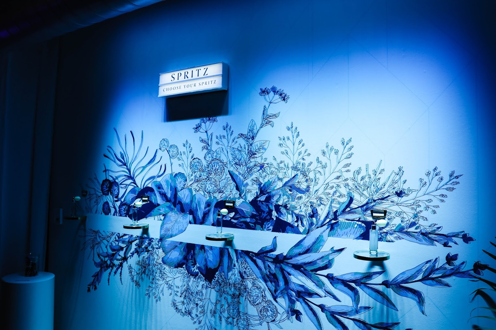 bombay sapphire canvas bar toronto pop-up spritz